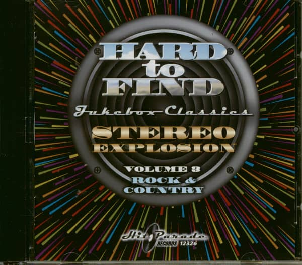 Stereo Explosion Vol.3 - Rock & Country Hard To Find Jukebox Classics (CD)