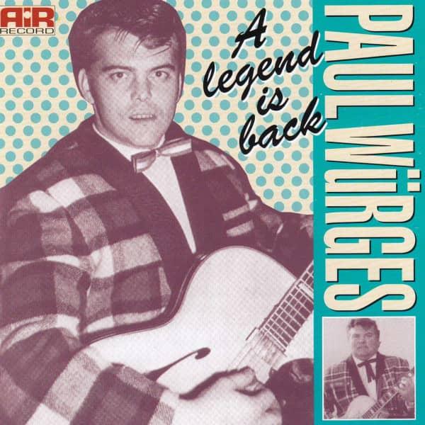 A Legend Is Back - Intrumental (CD)