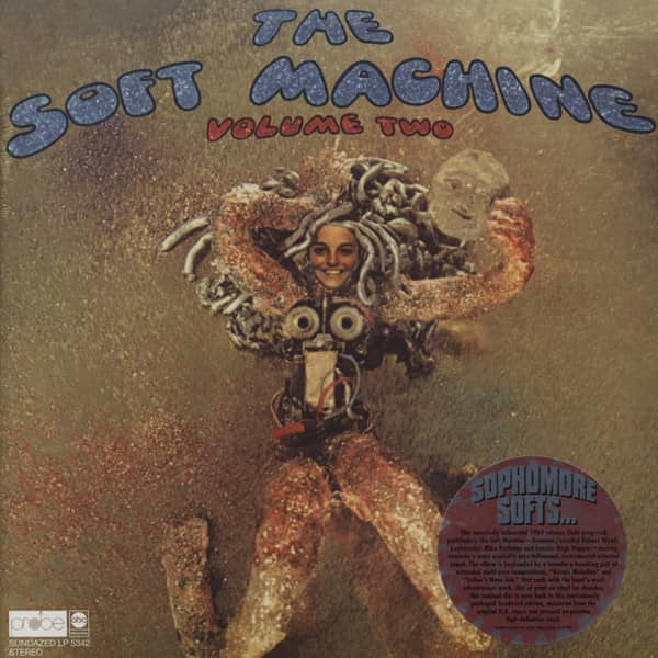 The Soft Machine Vol.2 - HQ Vinyl Gatefold
