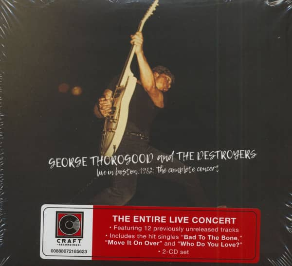 Live In Boston 1982 - The Complete Concert (2-CD)