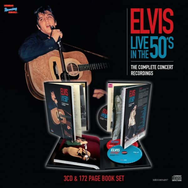 Live In The 50's - The Complete Concert Recordings (3-CD, Book)
