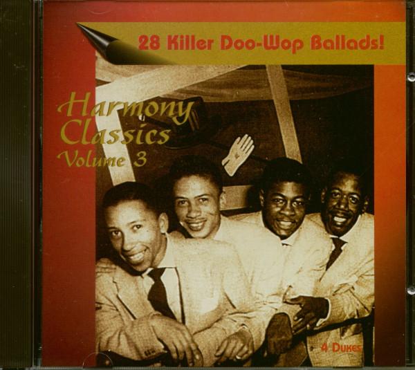 Harmony Classics Vol.3 - 28 Killer Doo-Wop Ballads! (CD)