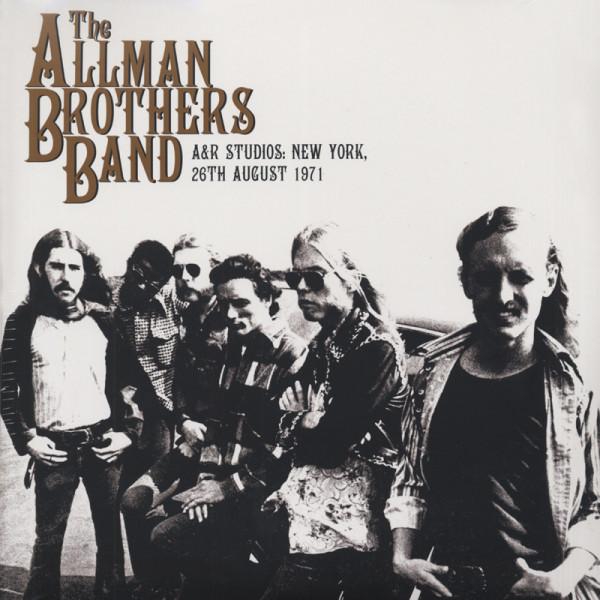 A&R Studios: New York, 26th August 1971 (2-LP