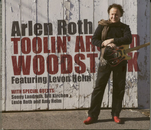 Toolin Around Woodstock Featuring Levon Helm (CD&DVD)