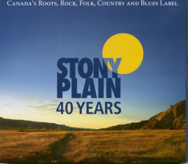 40 Years Stony Plain (3-CD)