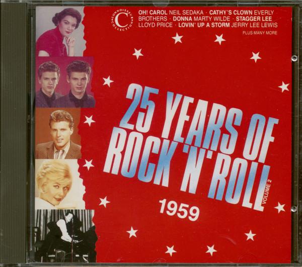 25 Years Of Rock'N'Roll 1959 - Volume 2 (CD)