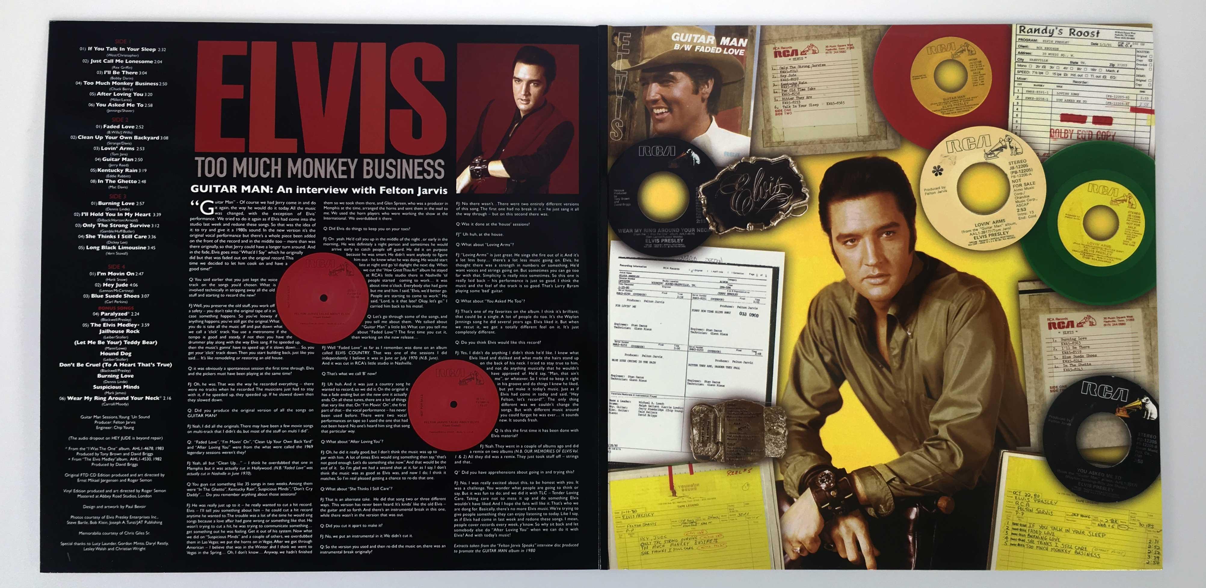 Elvis Is Back Ftd
