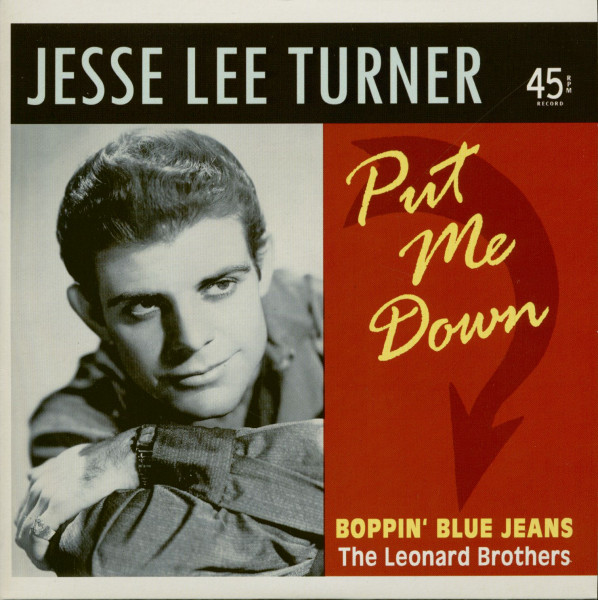 Put Me Down - Boppin' Blue Jeans (The Leonard Brothers) (7inch , 45rpm, PS, Ltd.)