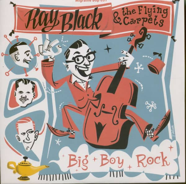 Big Boy Rock (7inch, EP, 45rpm, PS, Ltd. Numbered Edition)
