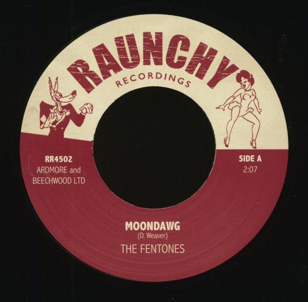 Moondawg - Womp Womp - Raunchy DJ Series (7inch, 45rpm, BC)