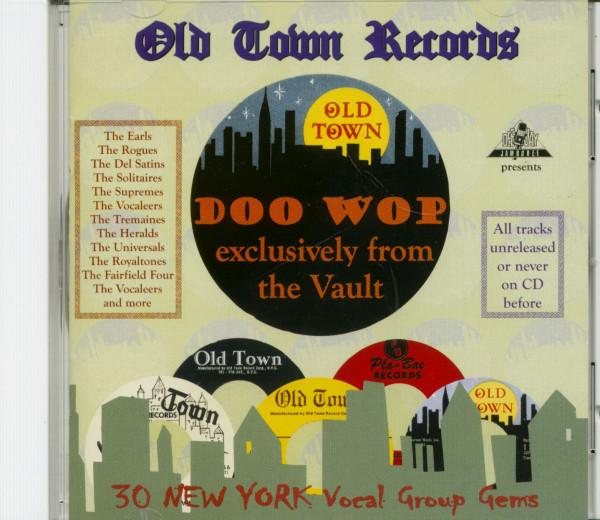 Old Town Doo Wop Exclusively From The Vaults