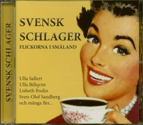 Svensk Schlager - Flickorna I Smaland (CD)