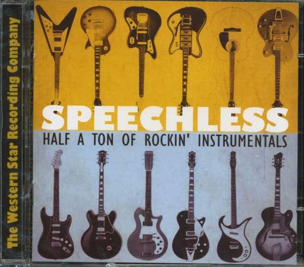 Various Speechless - Half A Ton Of Rockin' Instrumentals (2-CD)