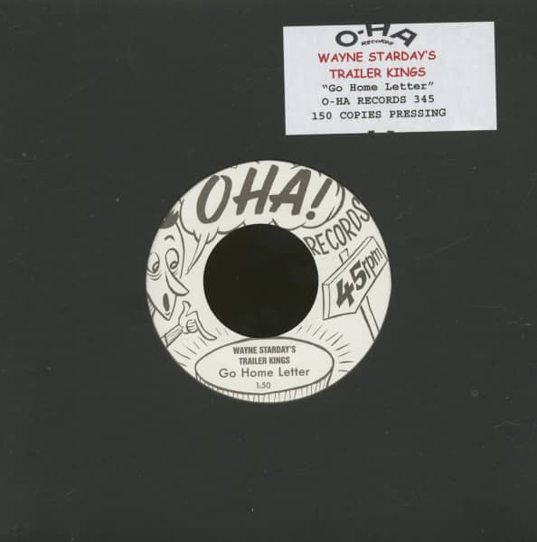 Go Home Letter (7inch, 45rpm, Ltd.)