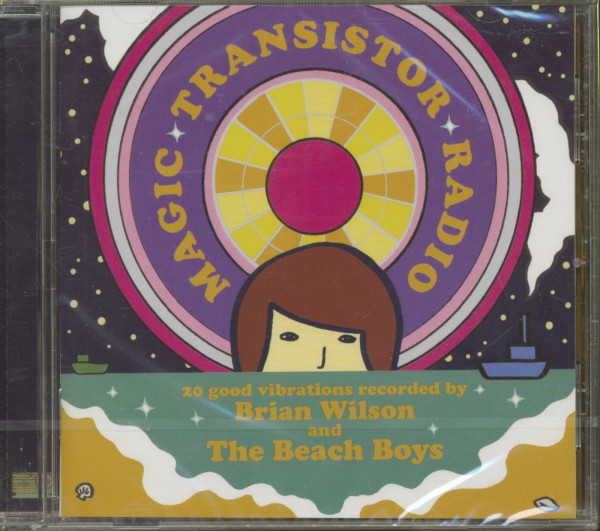 Magic Transistor Radio - 20 Good Vibrations Recorded By The Beach Boys (CD)