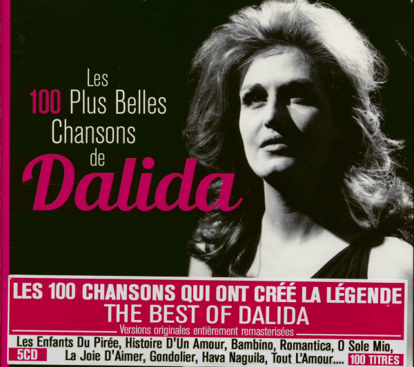 Les 100 Plus Belles Chansons de Dalida (5-CD)