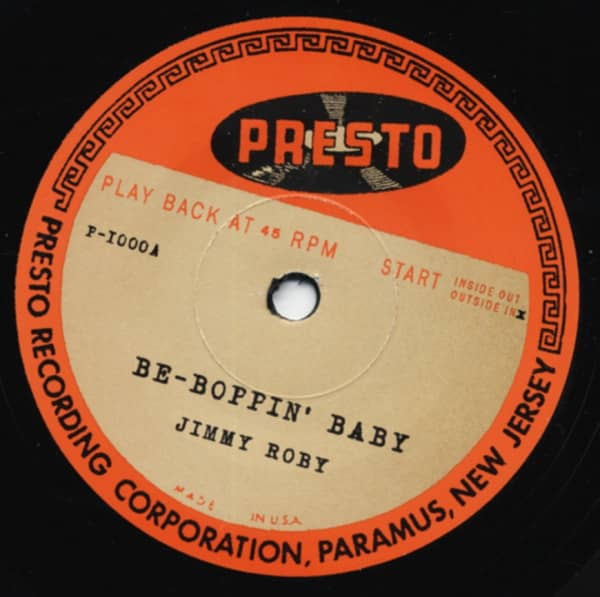 Be-Boppin' Baby b-w Wait A Little Baby 7inch, 45rpm, SC