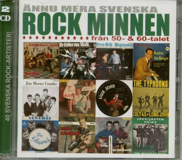 Annu Mera Svenska Rock Minen (2-CD)