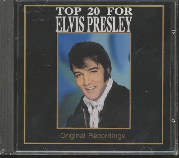 Top 20 For Elvis Presley - Fremus 1992 (CD)
