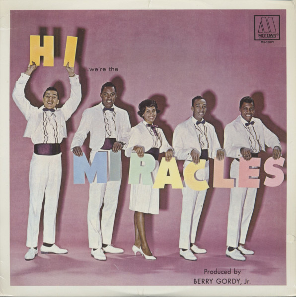 Hi, We're The Miracles (LP)