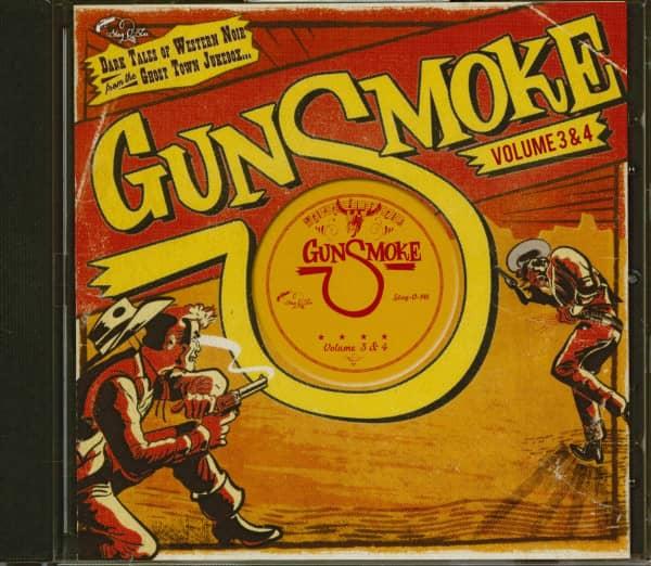 Gunsmoke Vol.3 & 4 - Dark Tales Of Western Noir (CD)
