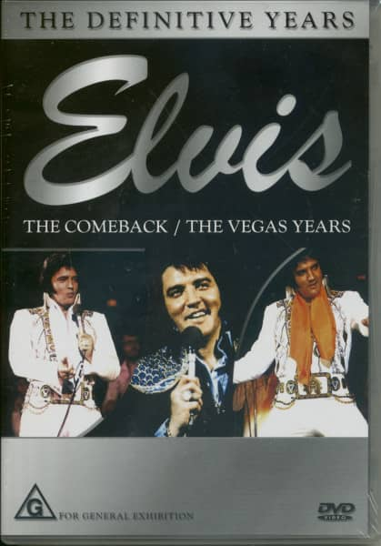 Elvis - The Comeback & The Vegas Years (DVD)
