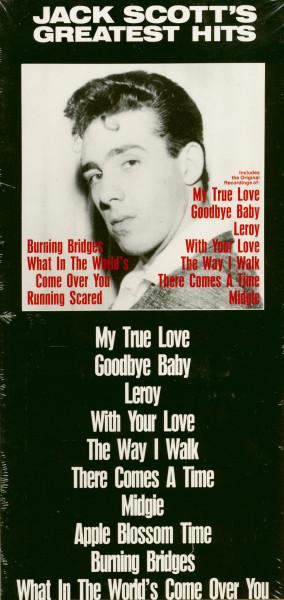 Jack Scott Greatest Hits (CD, Longbox Packaging)
