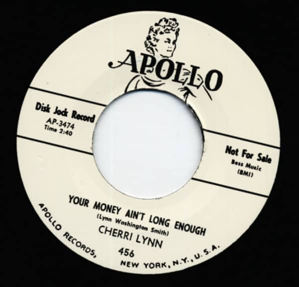 Your Money Ain't Long Enough b-w Baby I'm Gone 7inch, 45rpm