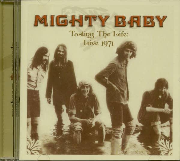 Tasting The Life - Live 1971 (CD)