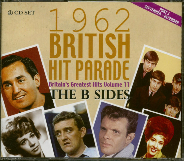 The 1961 British Hit Parade - Britain's Greatest Hits Volume 11 - The B Sides - Part 3 (4-CD)