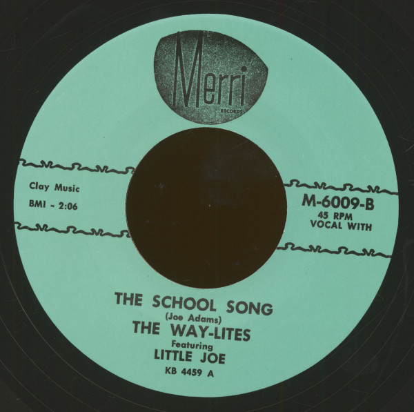 The School Song - Summertime (7inch, 45rpm)