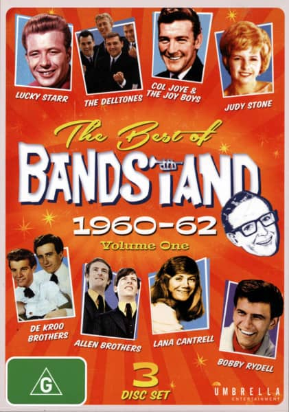The Best Of Bandstand, Vol.1 1960-62 (3-DVD) (0)