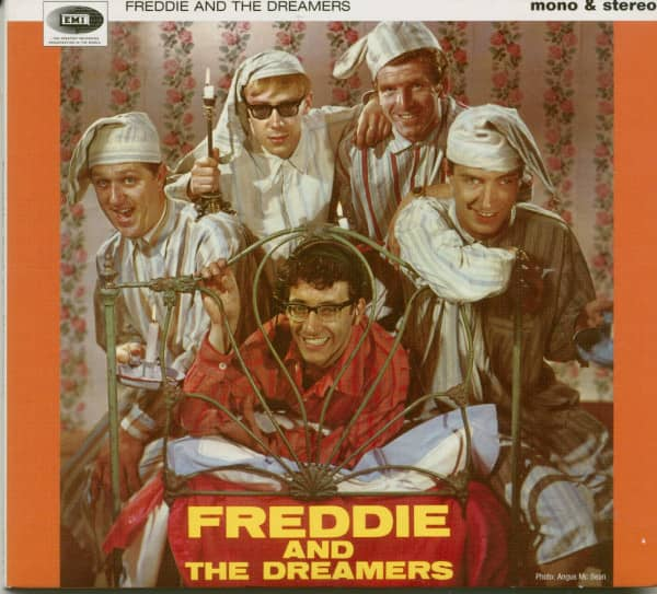 Freddie And The Dreamers - The Two Faces Of Freddie (And The Eight Faces Of The Dreamers) (CD)