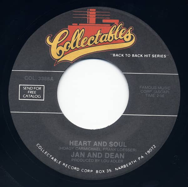 Heart & Soul - Lies 7inch, 45rpm