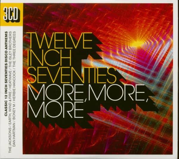 Twelve Inch Seventies - More, More, More (3-CD)