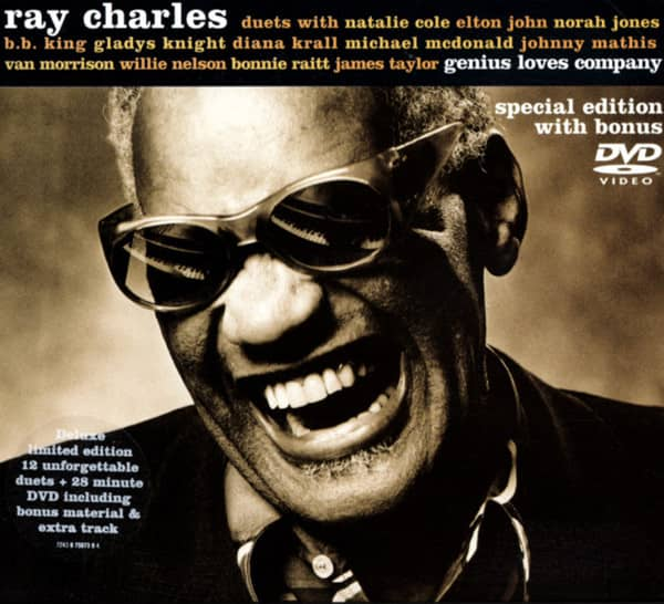 Ray Charles Cd Genius Loves Company Amp Dvd Special