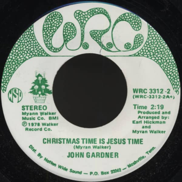 Christmas Time Is Jesus Time 45rpm