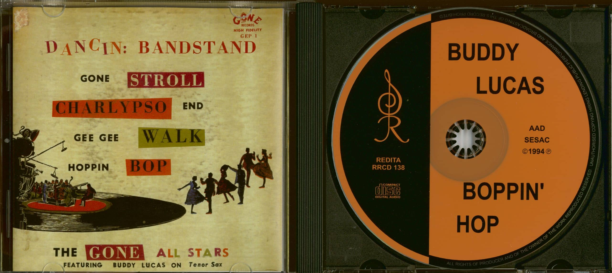 buddy lucas cd hoppin bop cd bear family records rh bear family com