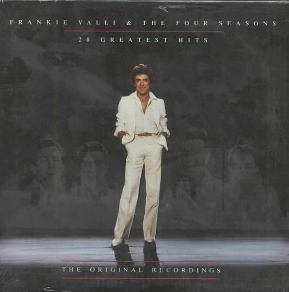 fd1e41452 Frankie Valli & The Four Seasons LP: 20 Greatest Hits 1962 - 1978 ...