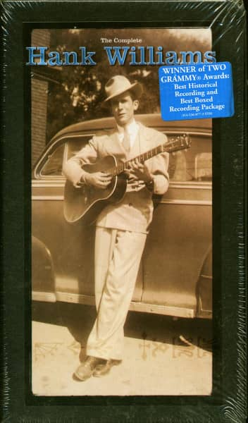 The Complete Hank Williams (10-CD Box, Ltd.)