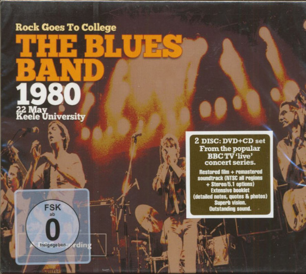 Rock Goes To College - 1980 Keele University (CD & DVD)