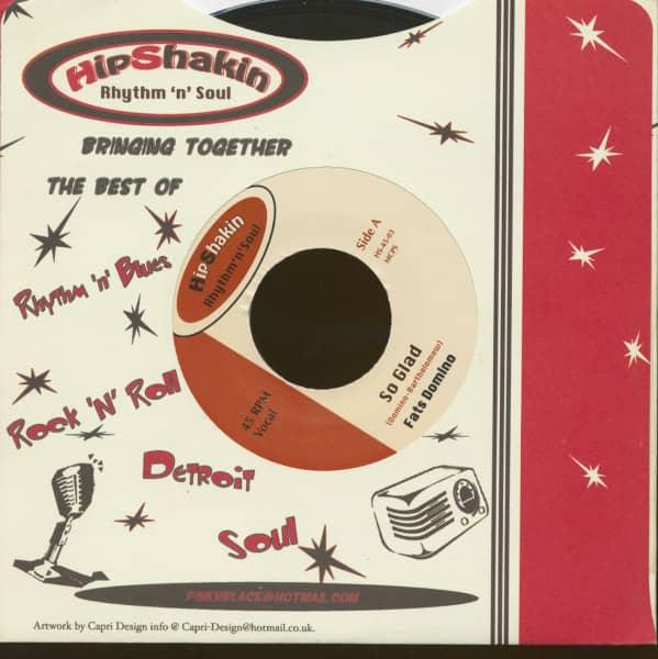 Fats Domino - Jimmy Ricks (45rpm, 7inch, CS)