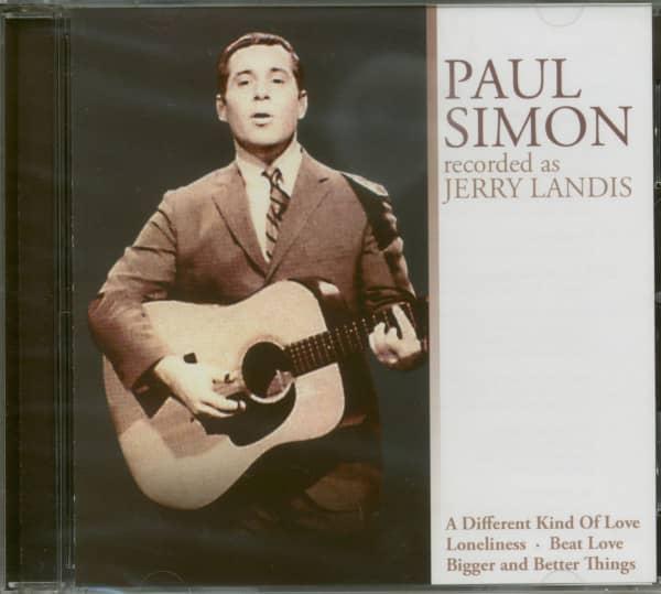 Paul Simon Recorded As Jerry Landis (CD)