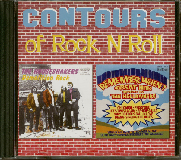Contours Of Rock'n'Roll (CD)