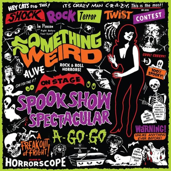 Something Weird Spook Show Spectacular a Go-Go (LP+DVD, Red Vinyl, Ltd.)