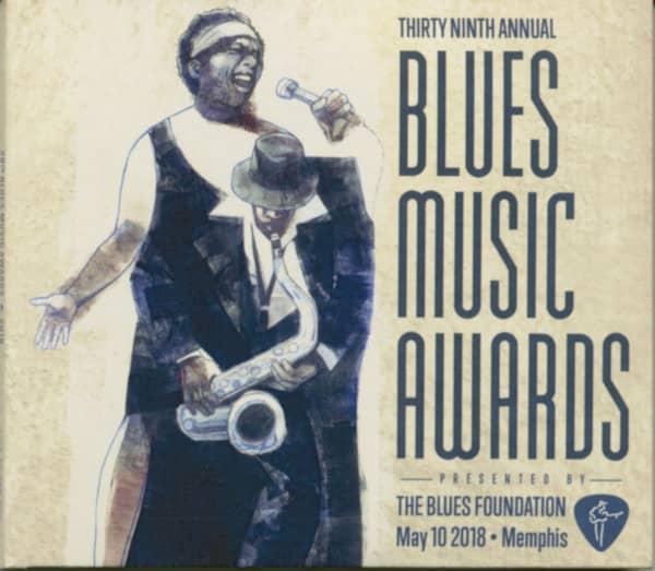 39th Blues Music Awards, 2018 (CD & DVD)