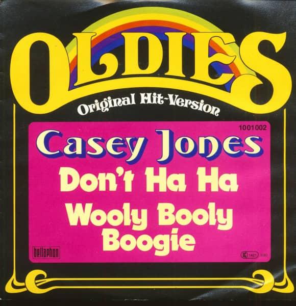Oldies - Original Hit-Version - Don't Ha Ha (7inch, 45rpm, PS)
