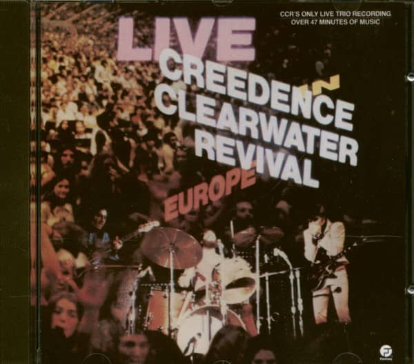 Live In Europe (CD)