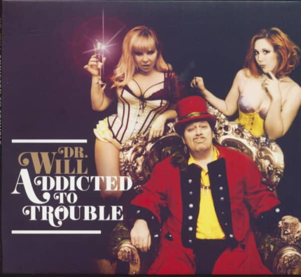 Addicted To Trouble (CD)