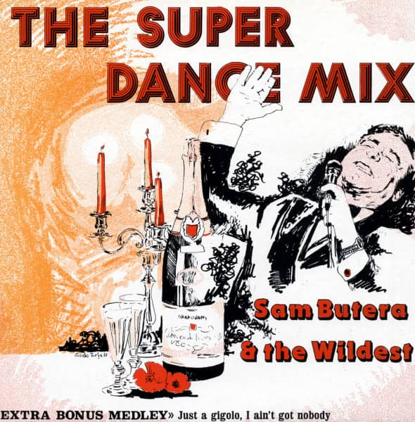The Super Dance Mix - 12'Maxi Stereo